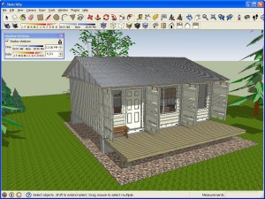 SketchUp shadows
