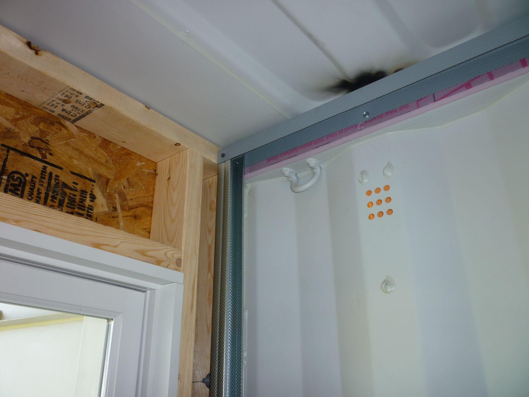 Interior Framing - Tin Can Cabin
