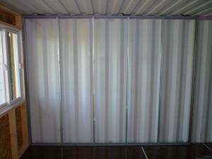 Interior Framing Tin Can Cabin