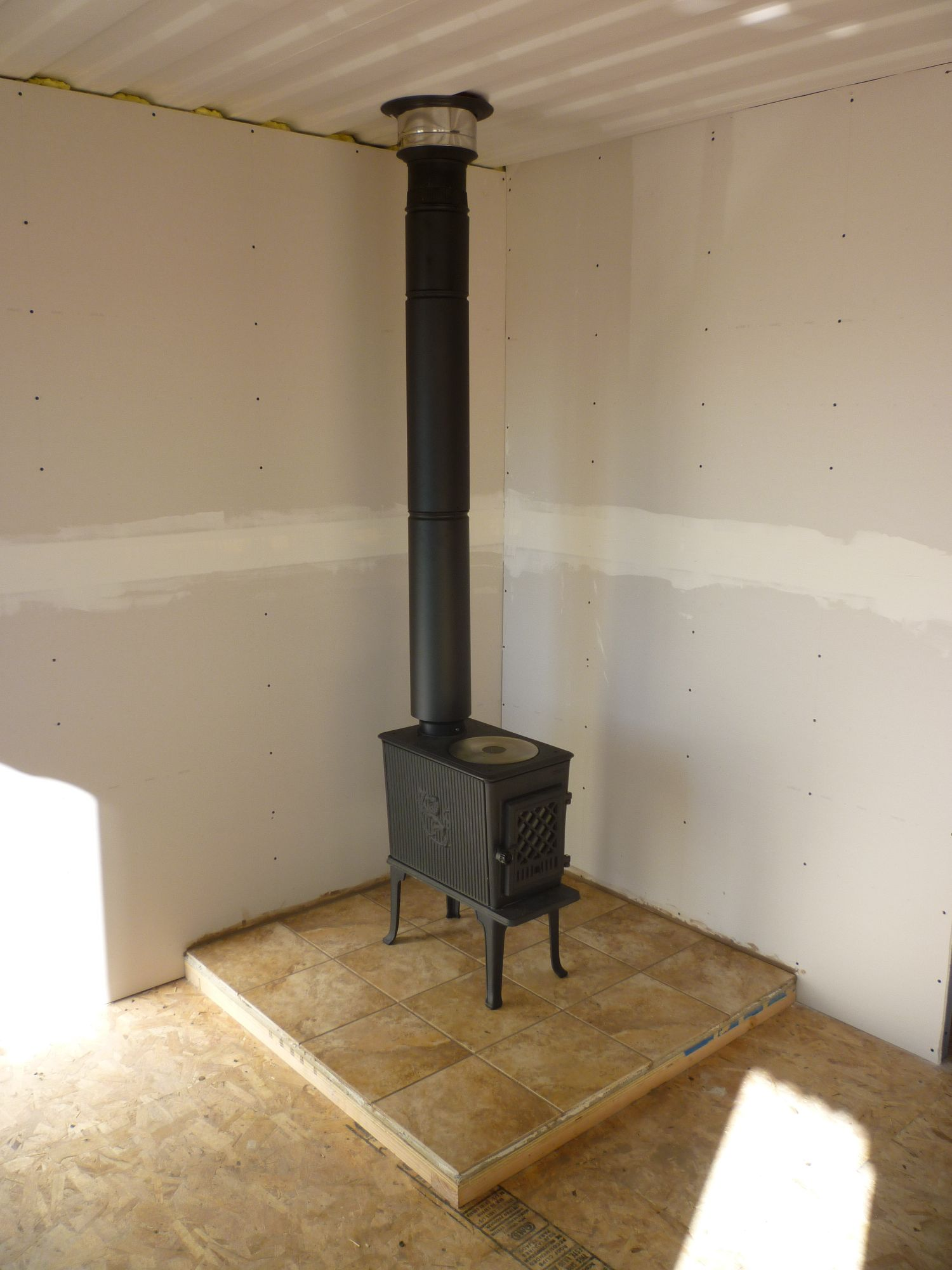 Stove Chimney Installing Wood Stove Chimney Through Roof. fire masters gas  fireplaces - Fireplace Chimney Pipe