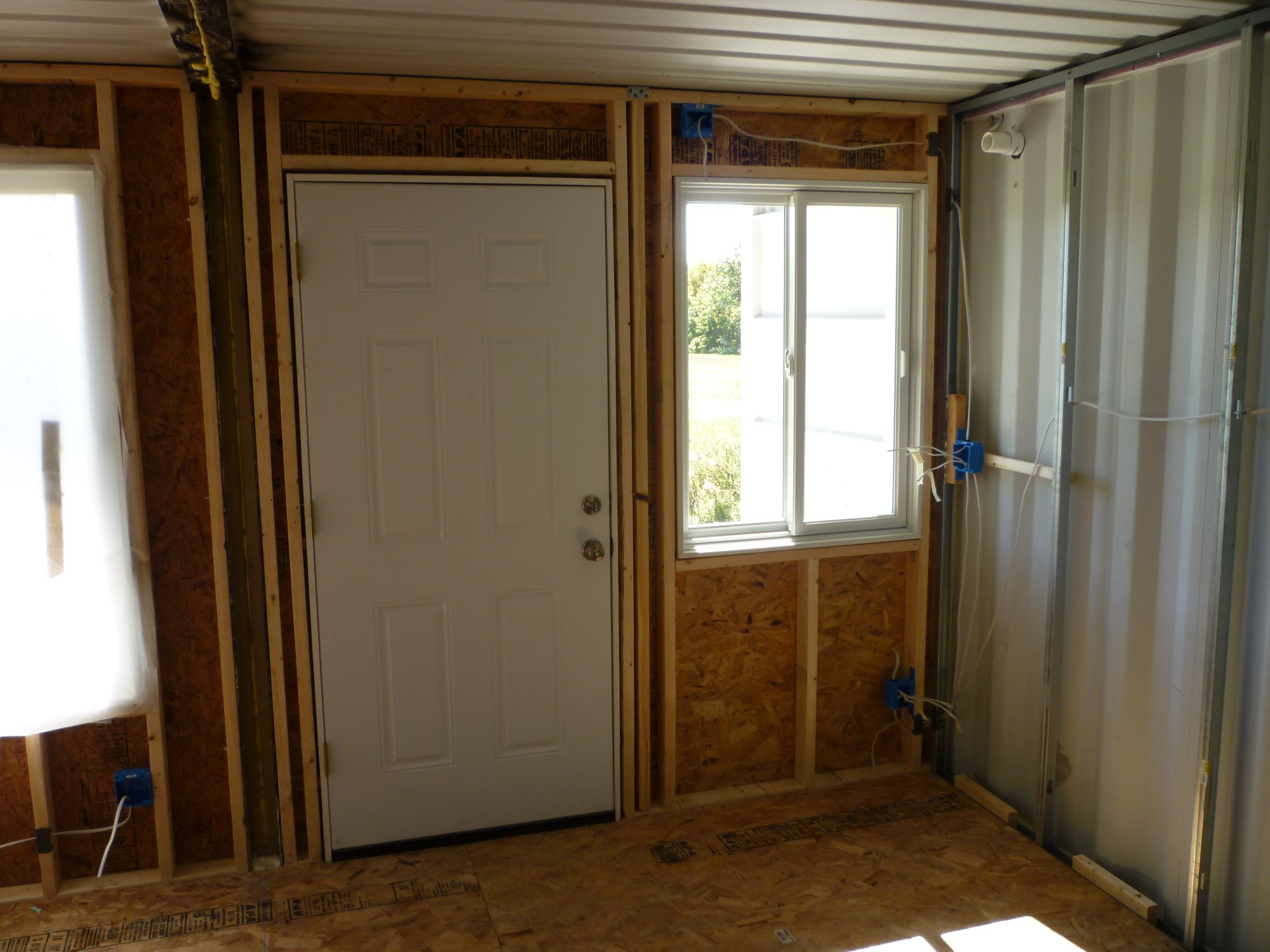 Electrical Wiring Tin Can Cabin Behind Walls