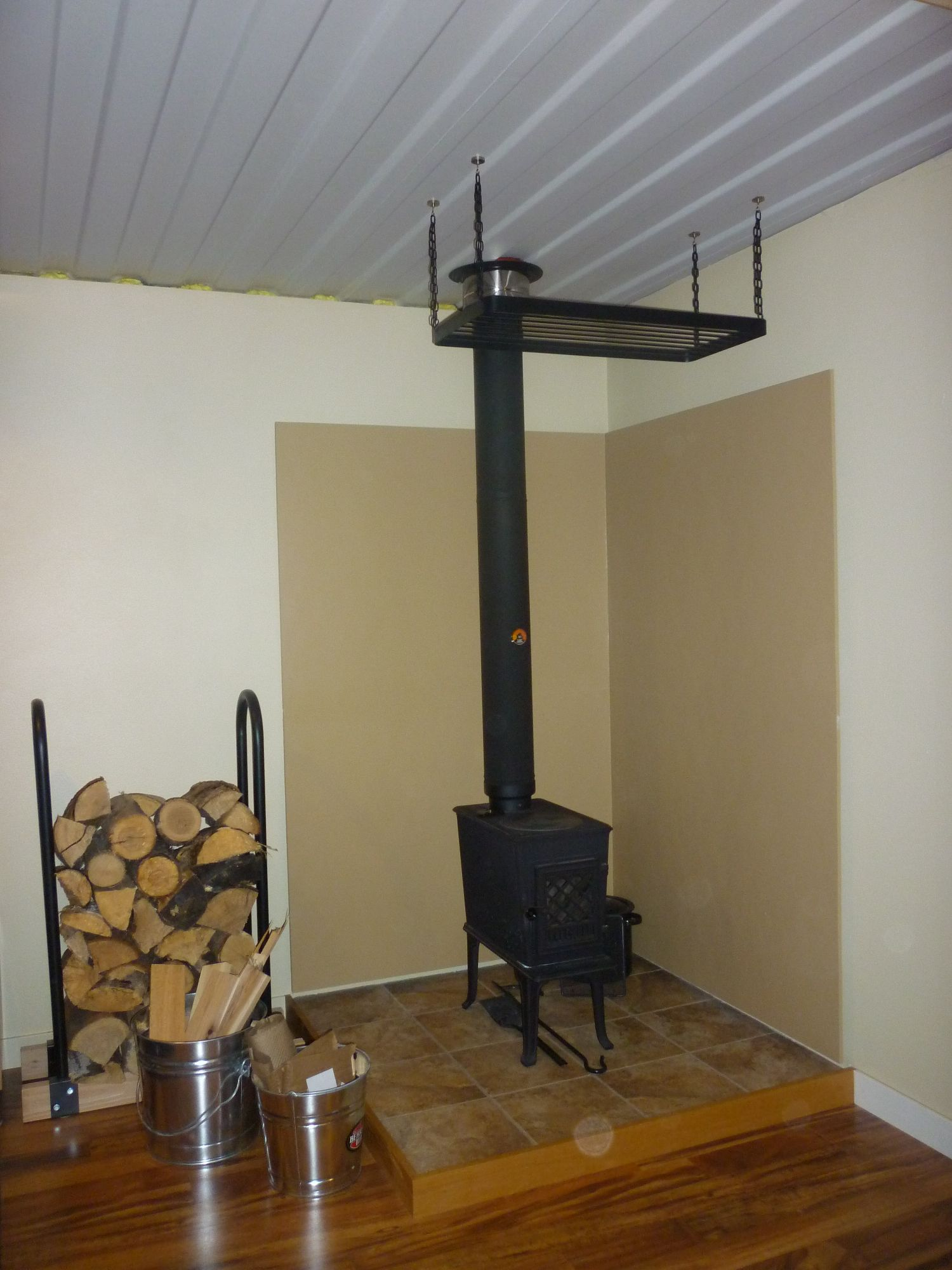 Wood Stove Redux - Tin Can Cabin